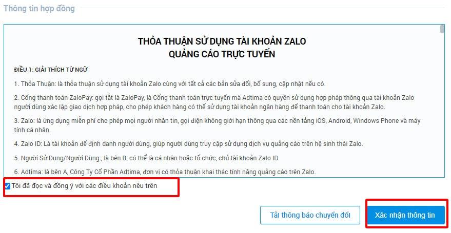 Hướng dẫn chạy quảng cáo Zalo Ads