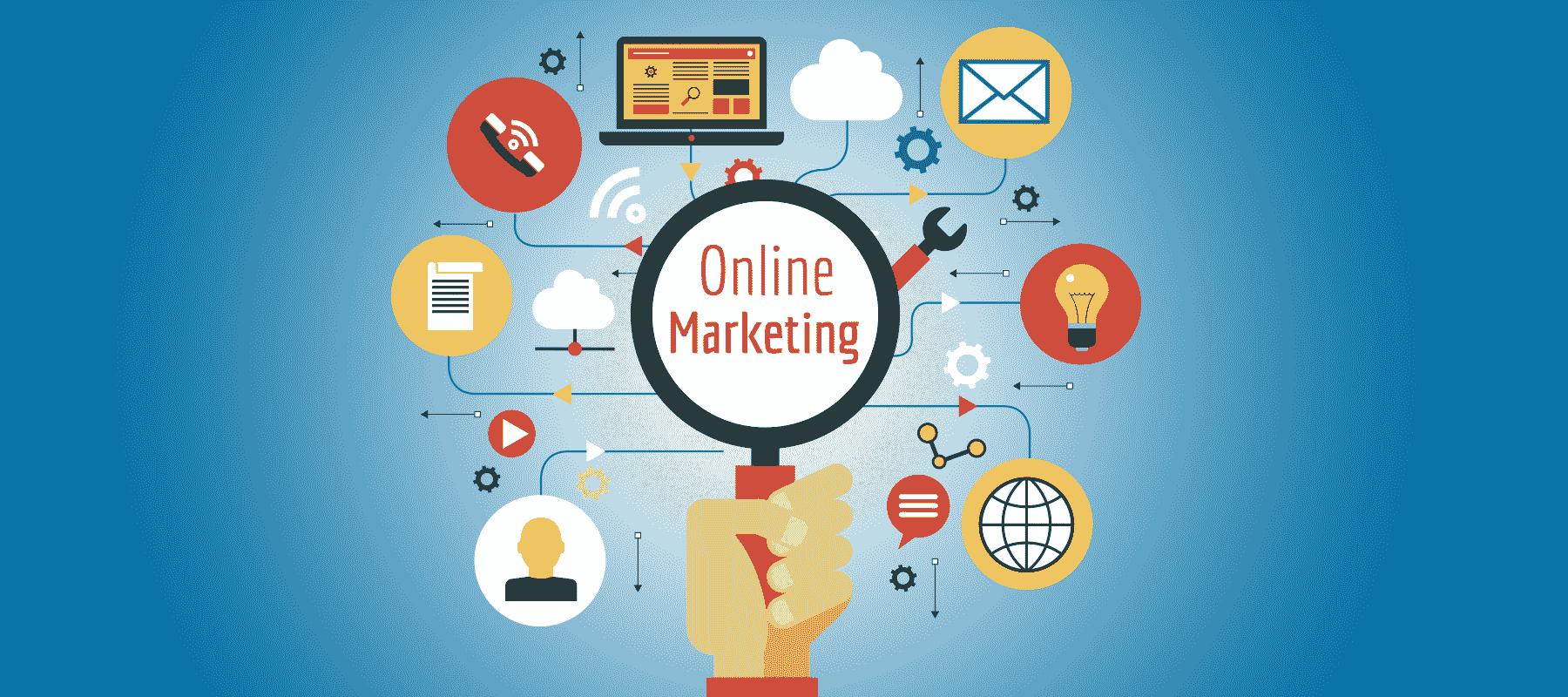 Marketing online gồm những kênh gì